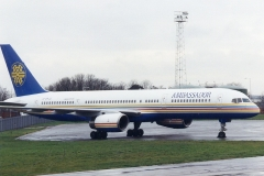 AMBASSADOR AIRWAYS  BOEING B757-200. G-SRJG
